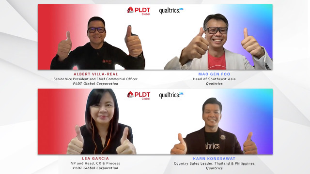 PLDT Global taps Qualtrics to level up customer experience