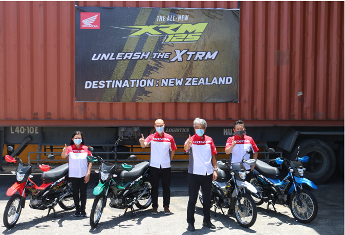 HPI exports XRM125 to New Zealand