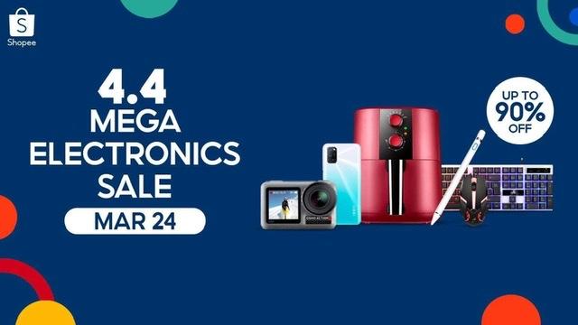 shopee mega electronics sale