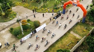 Bellevue Bohol's Earth Hour 60KM Cycling and 1,000 Trees Initiative