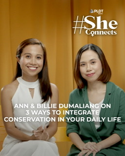 Siblings Billie and Ann Dumaliang call on more youth to care for the environment