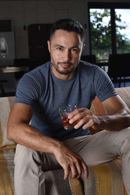 Actor and Tanduay Rum's long-time endorser Derek Ramsay