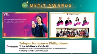 Teleperformance Philippines win in 18th Quill awards