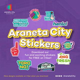 Araneta City Viber Stickers