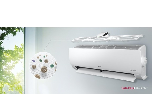 LG's new air conditioners utilize the new Aircare Complete system