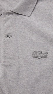LACOSTE - the Loop Polo & collaboration with Polaroid