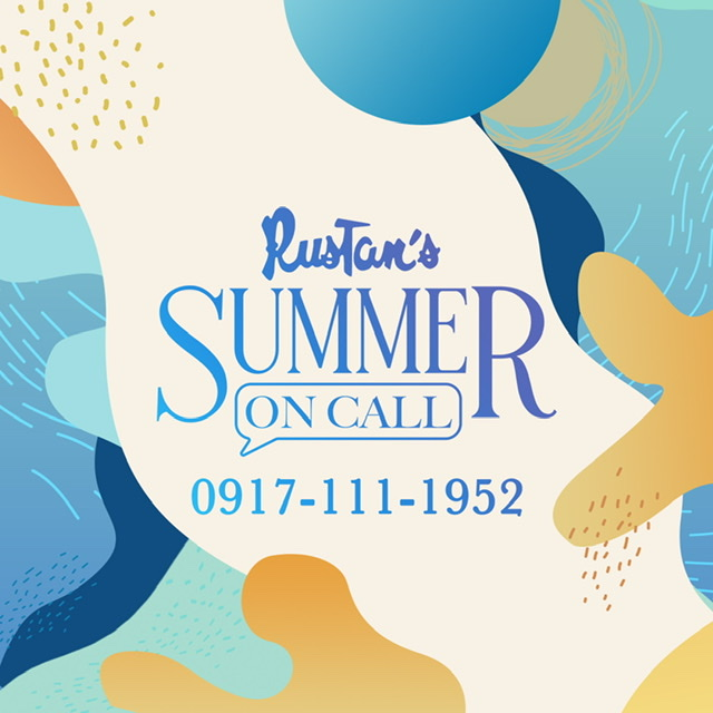 Safe and convenient summer shopping with Rustan's Personal Shopper on Call