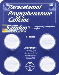 Paracetamol + Propyphenazone + Caffeine (Saridon Triple Action): for fast and better headache relief during these difficult times