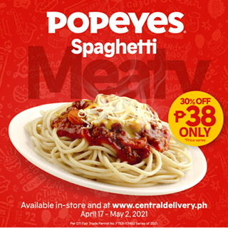 """Say """"YAS!"""" every day with Popeyes sundae, float, and Spaghetti at 30% off"""