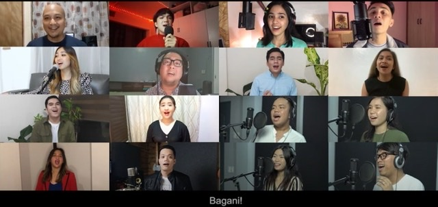 """Catriona Gray, Noel Cabangon, Juris, Keiko Necesario and more artists join forces in the star-studded """"Bagani"""" music video"""