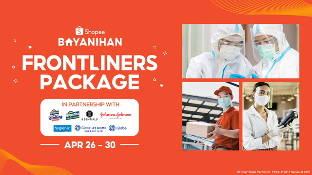 Shopee Brings Back Shopee Bayanihan: Frontliners Package to Further Its Support for All Frontliners