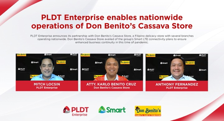 PLDT Enterprise enables nationwide operations of Don Benito's