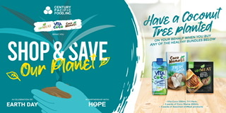 Century Pacific plant-based brands allow consumers to help plant trees for Mother Earth