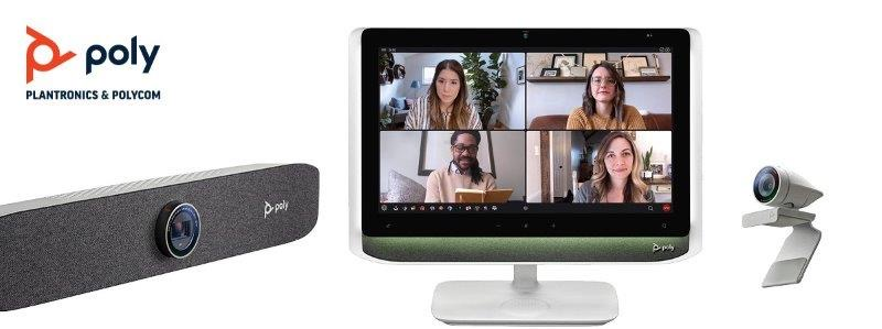Command the Conversation with Poly's New Series of Personal Video Solutions
