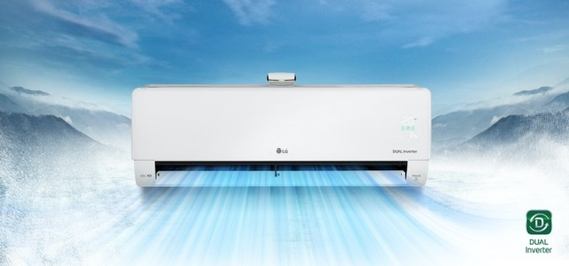 LG DUALCOOL air conditioner withUVnano