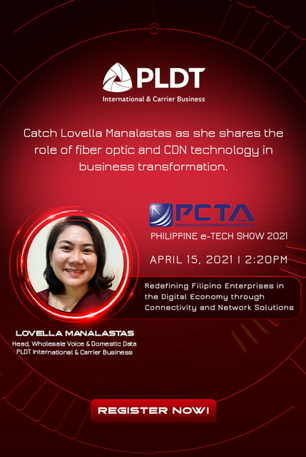 PLDT, PCTA empower Philippine e-Tech Show 2021