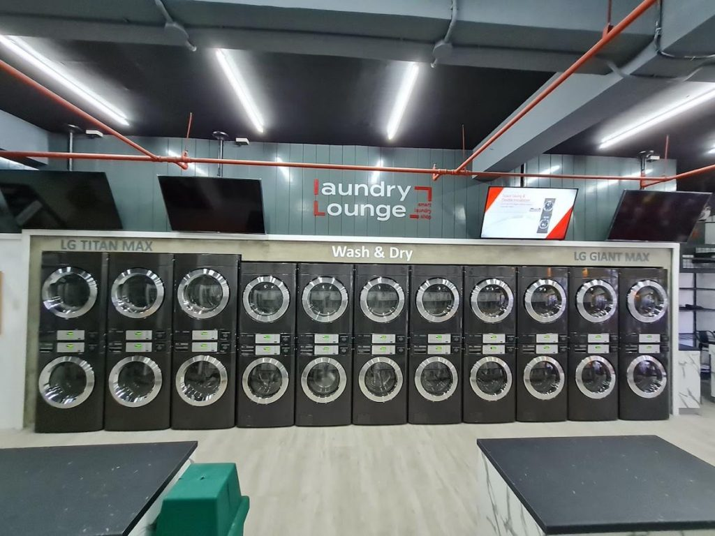 LG Launches its First Smart Laundry Lounge in the Country