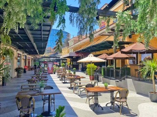Dine without worries at Vista Mall Outdoor!