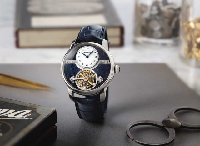Montblanc High Watchmaking in Sparkling Blue