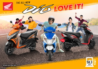 The All-New DIO, A Scooter You'll Surely Love