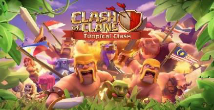 'Clash of Clans - Tropical Clash', Celebrate friendship with your favorite SEA CoC players!