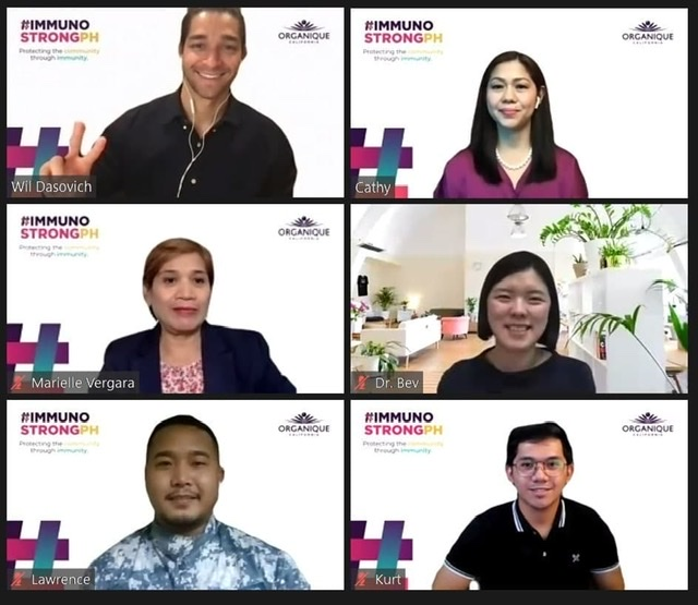 Organique launches #ImmunoStrongPH campaign for a stronger immunity amid the pandemic