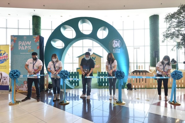 Have a PAWsome time at SM City Fairview's indoor Paw Park
