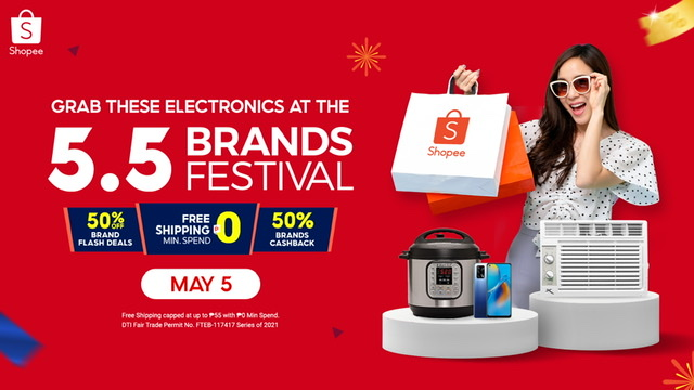 The Hottest Electronics You Need to Score this Summer at the Shopee 5.5 Brands Festival