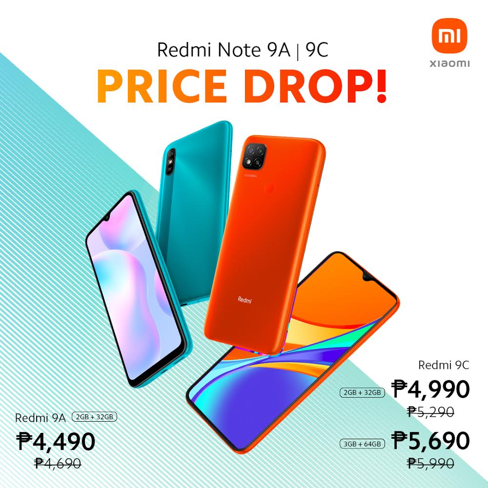 Xiaomi's entry level kings made even more accessible with Redmi 9A and 9C price drop