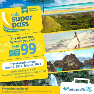 Buy all you can, fly when you can with the CEB Super Pass