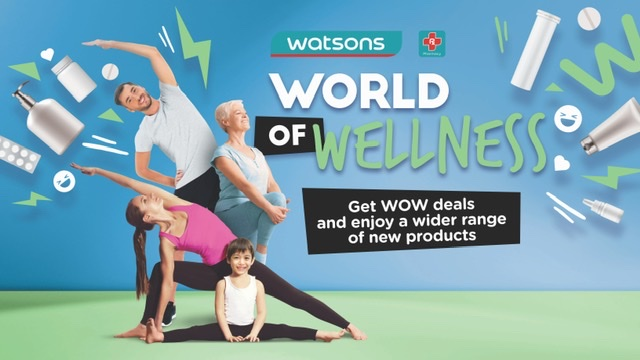 All the vitamins you need from Watsons