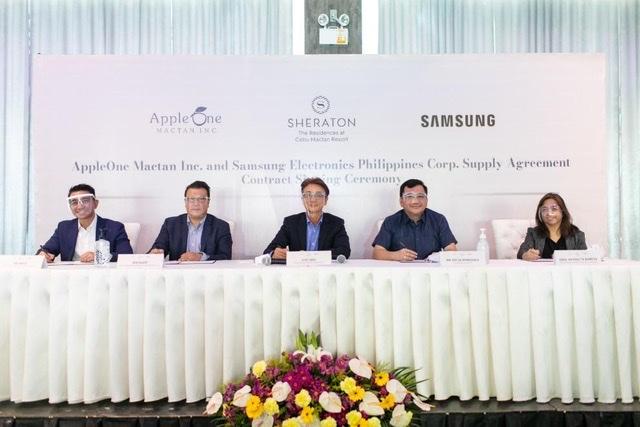 Samsung Philippines seals $1.3M partnership with Sheraton Cebu Mactan Resort and Residences