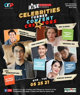 CICP May GMM: Celebrities Turned Content Creators