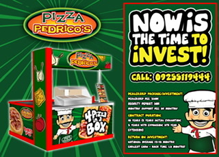 SANTINO'S SUPREME SLICE & PIZZA PEDRICO'S AT THE UFRANCHISE DISCOVERY DAY!