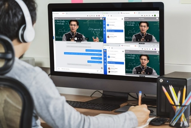 Alcatel-Lucent Enterprise revolutionises remote learning with the launch of Rainbow Classroom