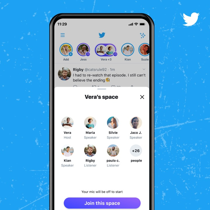Join, listen, speak and host: Twitter Spaces is here