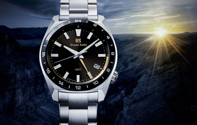 A Grand Seiko quartz GMT watch celebrates the 140th anniversary of the company's foundation