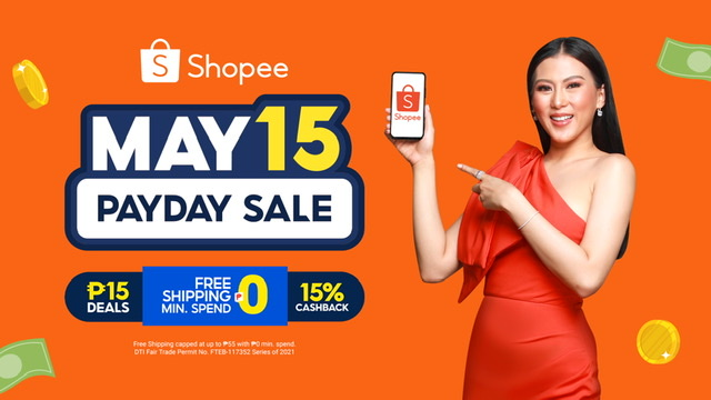 Shopee and Alex Gonzaga Make Akinse Shopping More Fun, Rewarding, and Worthwhile at Shopee 5.15 Payday Sal