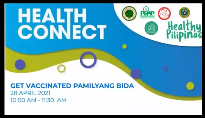 WIW 2021: DOH, PARTNERS HOLD 'GET VACCINATED PAMILYANG BIDA' TO HIGHLIGHT VALUE AND IMPORTANCE OF VACCINATION
