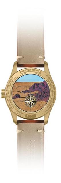 Montblanc 1858 Geosphere meets Desert