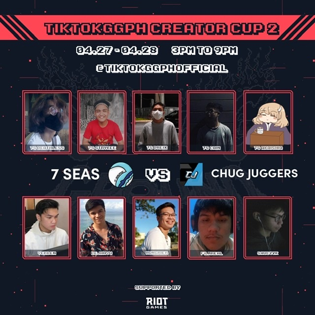Globe celebrates gaming in Tiktok #GGPHCreatorCup2 Tournament
