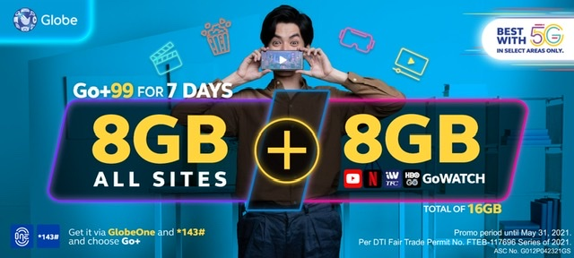 Ready, Set, Go+ with Globe's New Prepaid Promos