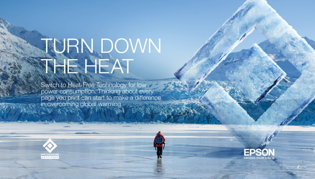 Epson Joins National Geographic in the Fight Against Climate Change with Turn Down the Heat Campaign