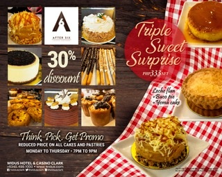 ENJOY DISCOUNTED DELIGHTS AT AFTER SIX LOUNGE AND CAFE