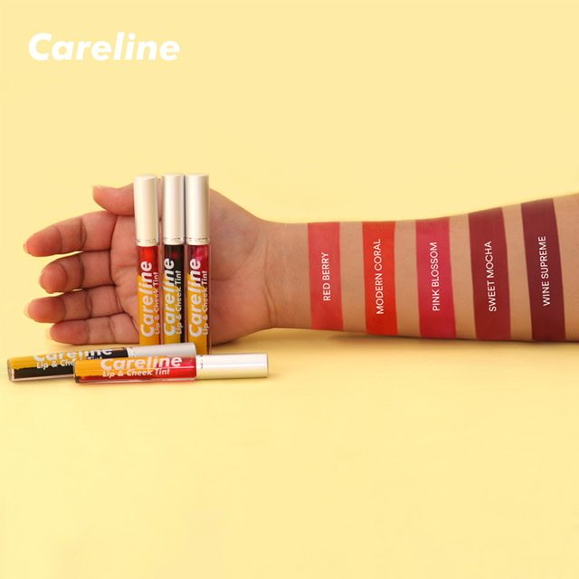 Go-to summer makeup looks you can try with Careline's Lip & Cheek Tint