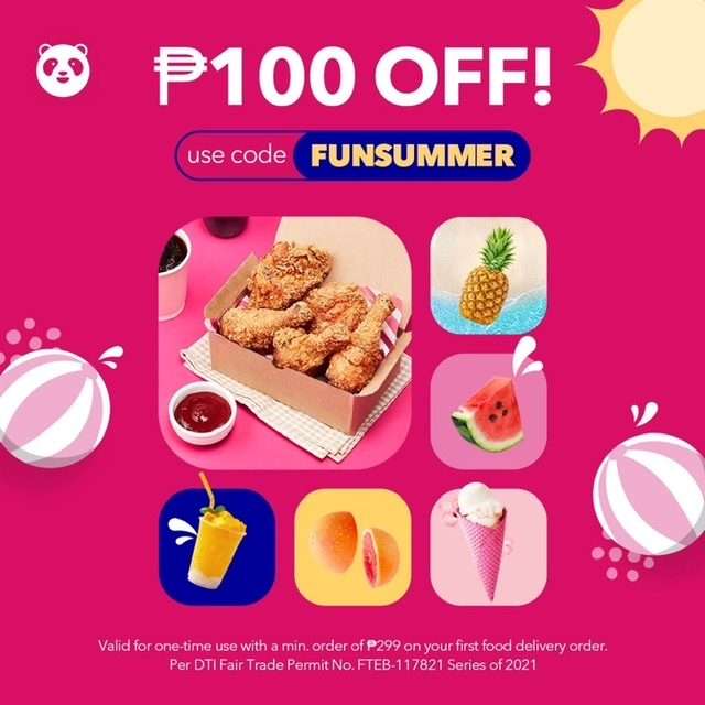 Enjoy staycation at home with foodpanda's feel-good summer promos