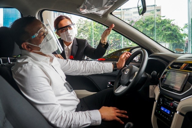 """Toyota dealerships remain """"at your service"""" amid the pandemic"""