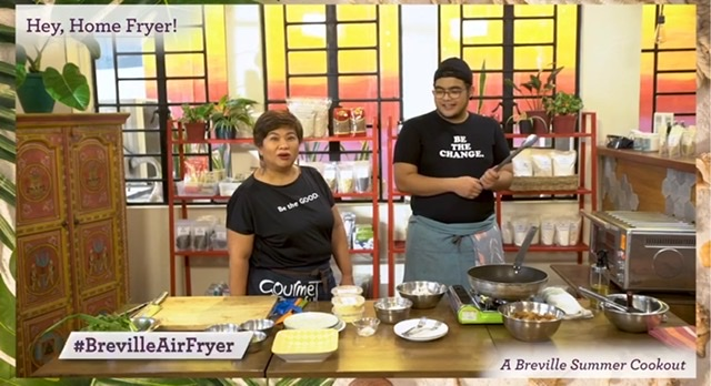 Ready to Elevate your Fried Food Favorites? Breville Philippines Showed them how to do it!