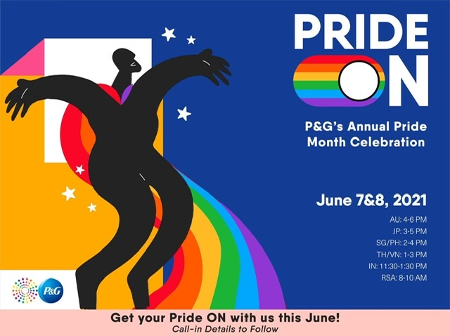 P&G Turns on Active Allyship in Its 2021 Pride Celebration, 'PrideON'