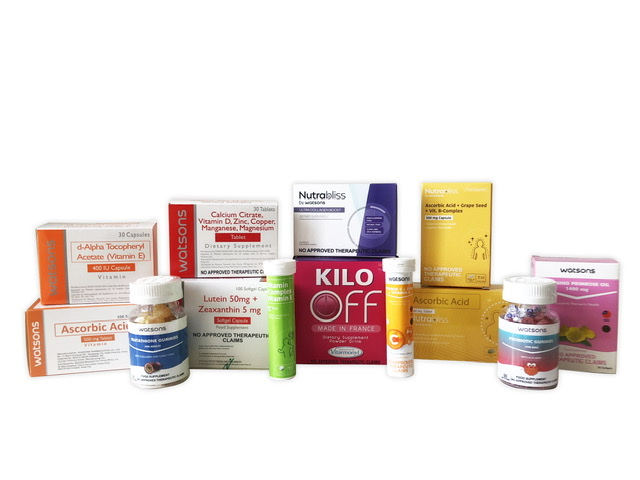 Get as much as 50% off in the 2nd Watsons Vitamins Super Saver Sale